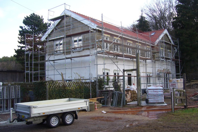 Umbau und Sanierung Stallgebäude