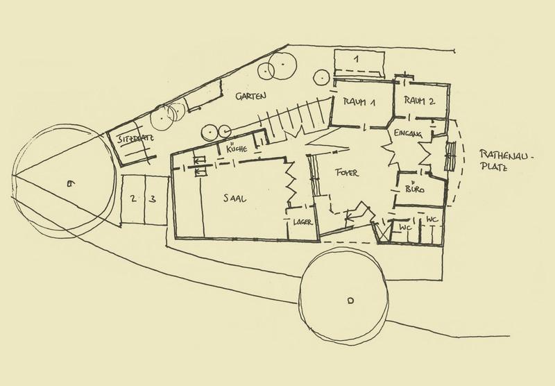 Entwurf einer Kirche in  Weimar