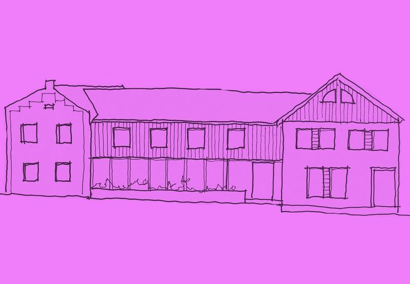 Entwurf Sanierung alte Hofanlage