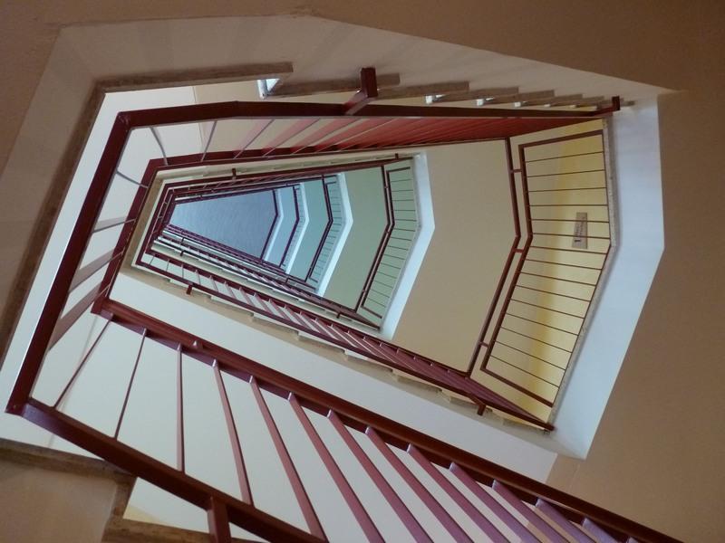 Haus Aja Textor-Goethe Treppenhaus