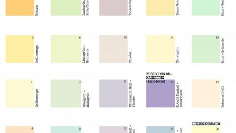 Farbtektur barbara schultze florey architketur farbgesatlung erftstadt - Farbkonzept haus ...